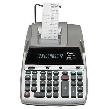 Canon MP11DX, one of the best printing calculators