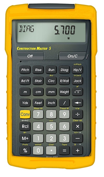 Calculated Industries 4050 Construction Master 5 Construction