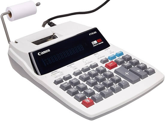 Canon CNN0181B001 printing calculator