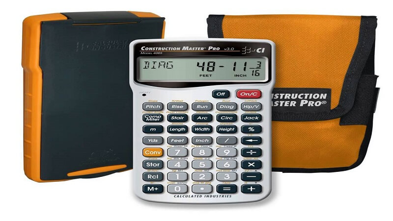 Construction Master Pro Calculator from Calculated Industries