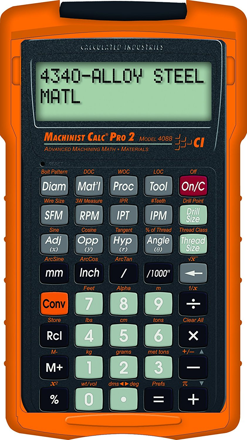 Machinist Calculator Pro 2