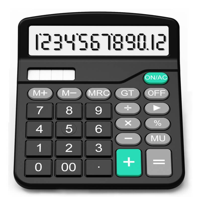 Splaks Standard Functional Desktop Calculator