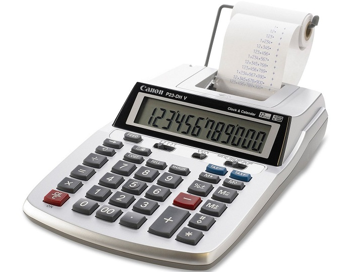 Canon P23-DH V 2 calculator