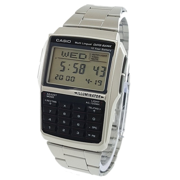 Casio General Men's Watches Data Bank DBC-32D-1ADF