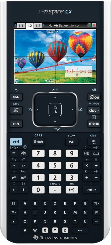TI-Nspire CX 3D graphing calculator