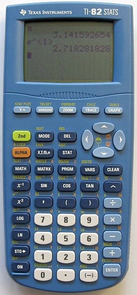 TI-82 calculator