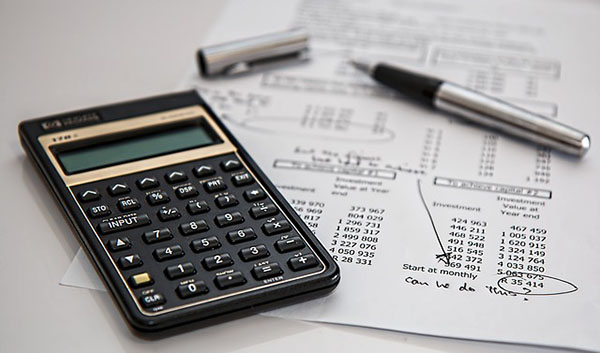 Computing the amounts using the best accounting calculator to answer the exam